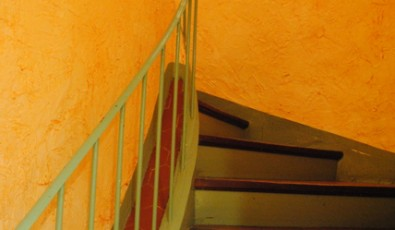 Old provencal stairs