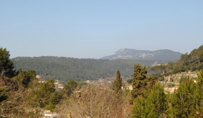 View over the Provence, Bessillon mountain